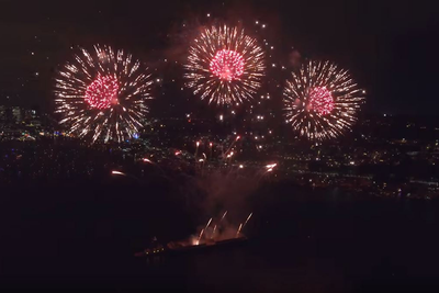 Think Twice Before Capturing Independence Day Fireworks From The Sky