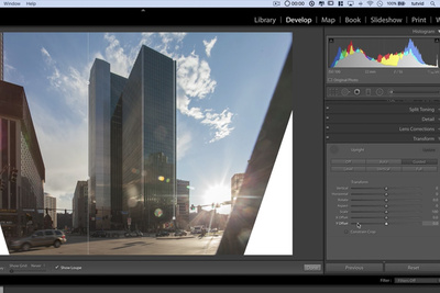 How to Correct Lens and Perspective Distortion Using Only Lightroom