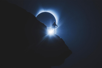 A Quick Look Behind the Scenes of an Amazing Solar Eclipse Photo