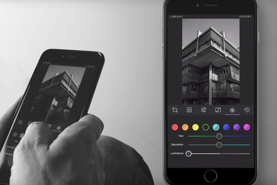 Creating Dramatic Black and White Images for Instagram