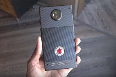 First Hands-On Look at the Unreleased RED Hydrogen Smartphone