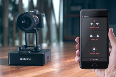 Edelkrone Releases the 'World's Smartest 2-Axis Motion Control System'
