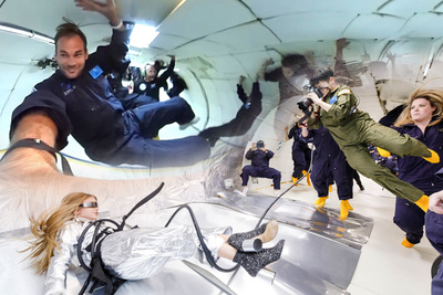 Fstoppers Rides the Vomit Comet: How These Incredible Fashion Photos Were Shot in Zero Gravity