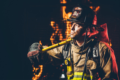 "Firefighter Photoshoot BTS: ""Can We Use Real Fire?"""