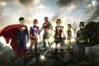 Photographer Gives New Meaning to the Justice League Superheroes