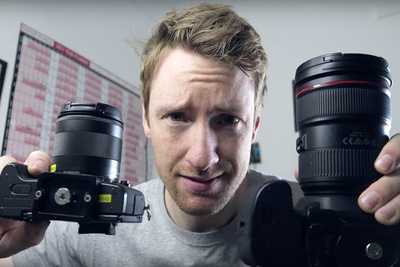 Thomas Heaton Trades a 5D Mark IV DSLR for a Canon M5 Mirrorless Camera