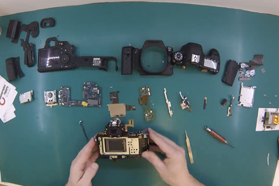 Watch a Time-Lapse of a Canon Camera Shutter Replacement
