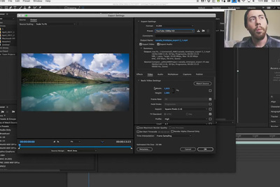 Editing a Time-Lapse With Only Adobe Applications