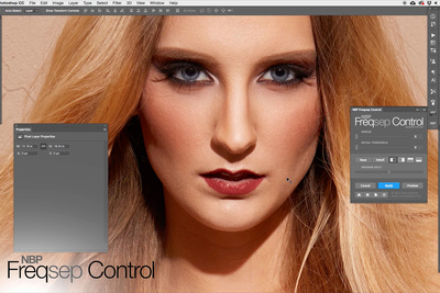 Photoshop Plug-In for Better Frequency Separation Control