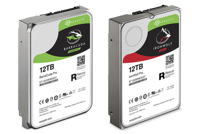 Seagate Announces Massive 12 TB Desktop and NAS Drives