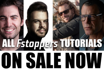 All Fstoppers Photography Tutorials Are On Sale Right Now