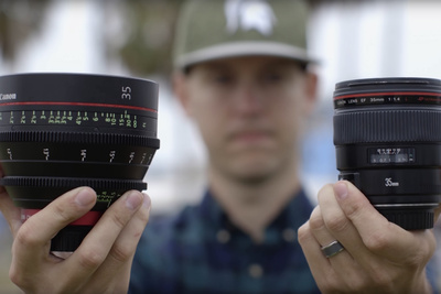 When and Why to Pick a Cinema Lens When it Comes to Videography