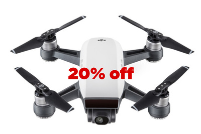 This Years Coolest Gift, The DJI Spark Drone, is $100 Off Today Only