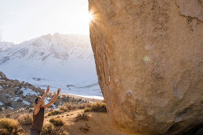 Photoshopping Climbers Out of Images Becomes Funny Rock Worshipping Scene