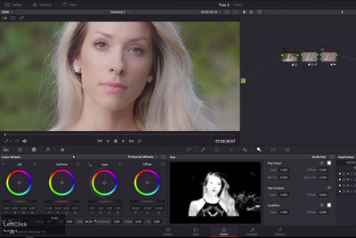 How to Smooth Out Skin on Video Footage With DaVinci Resolve 14