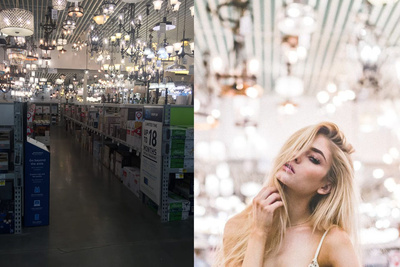 Photographer Shoots in Home Improvement Store to Prove Good Photos Can Be Taken Anywhere