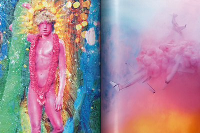 David LaChapelle's Latest and Last Photo Books Complete the Photographer's Narrative on Pop Culture, Consumerism, and Paradise [NSFW]