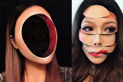 Real Life Photoshop: Make-Up Artist Creates Unbelievable Looks That Seem Digitally Generated