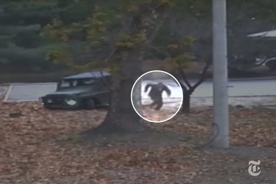 Harrowing Footage Shows North Korean Soldier Shot and Rescued During Defection