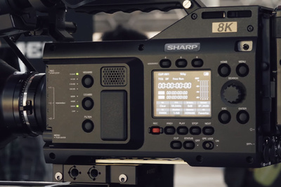 The Sharp 8k Camcorder: The Future of Broadcast?
