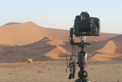 Finding the Perfect Shot in the Desert