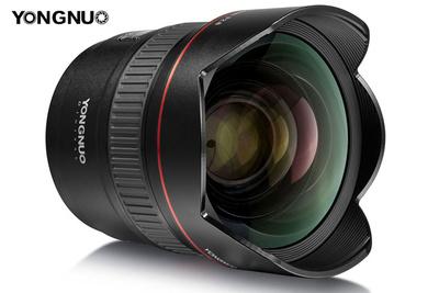 Yongnuo Announces 14mm f/2.8 Autofocus Lens