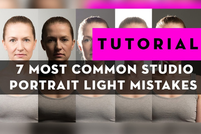 Seven of the Most Common Studio Portrait Light Mistakes