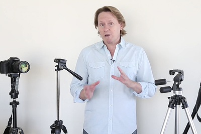 Everything You Ever Wanted to Know About How to Choose and Use Tripods