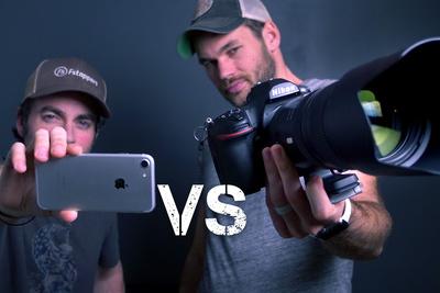 iPhone Vs. Pro Camera Challenge