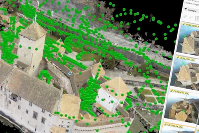 6,227 Images And 4 Hours Of Work Produced This Insanely Detailed 3D Model of a Castle