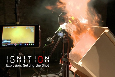 Behind-The-Scenes: Explosion Shot from Ignition