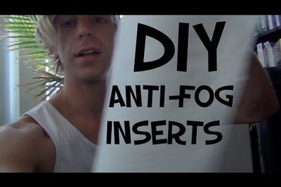 DIY GoPro Anti-Fog Insert