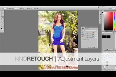 Photoshop Video Tutorial #3: Adjustment Layers from The Beginners Basics Series