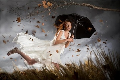 """Creating a Fantasy """"Composited"""" Portrait In-Camera"""