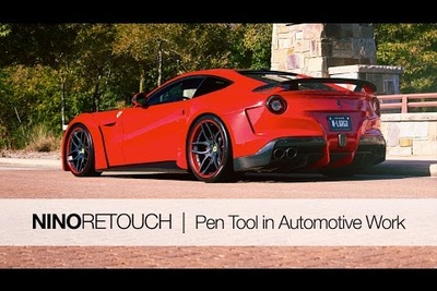 Here's Why You Need Photoshop's Pen Tool in Automotive Retouching