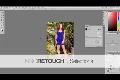 Photoshop Video Tutorial #5: Selections from The Beginners Basics Series