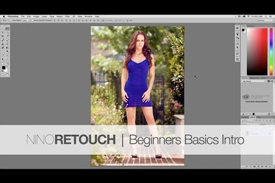 Photoshop Video Tutorial: The Beginners Basics Series Intro