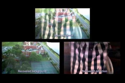 Watch This Software Automatically Remove Reflections And Obstructions In Video