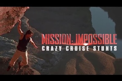 Behind The Scenes Of Tom Cruise's Mission Impossible Stunts