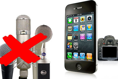 Use An iPhone To Record High Quality Audio For Your Videos