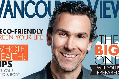 [BTSV] Photoshoot With Hockey Legend Trevor Linden