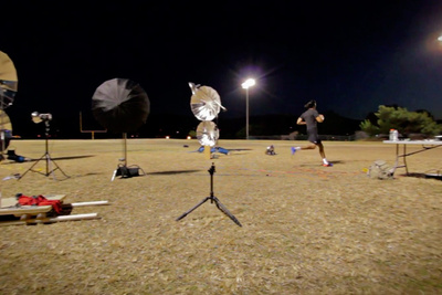 [BTS Video] Dean Bradshaw Lights And Composites A Variety Of Athletes