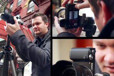 [BTS] Dave Hill Switches To The Sony NEX To Reinterpret Spiderman