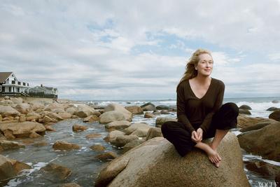 [BTS] Annie Leibovitz Shoots Meryl Streep