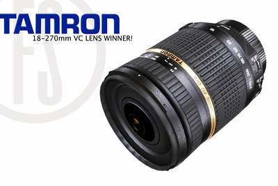 [Contest] Winner of Tamron Lens Giveaway