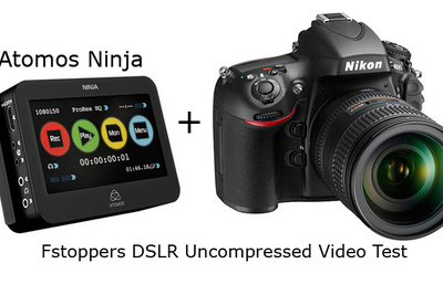 [FStoppers Review] Atomos Ninja External Recorder With Nikon D800