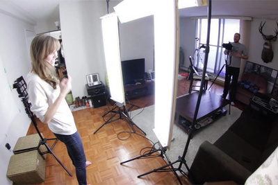 A Cheap DIY Alternative To Peter Hurley's Kino Flo Lighting