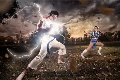 [Photos] Street Fighter Photoshoot!