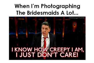 Funny Photo Gifs That Describe The Wedding Photographer