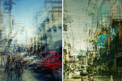 Urban Landscapes of Japan, Shot with Multiple Exposures